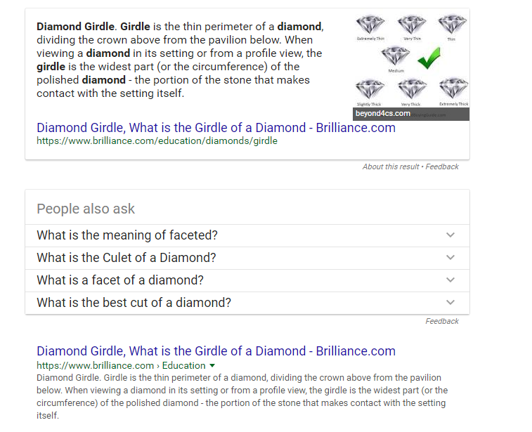 diamond-girdles