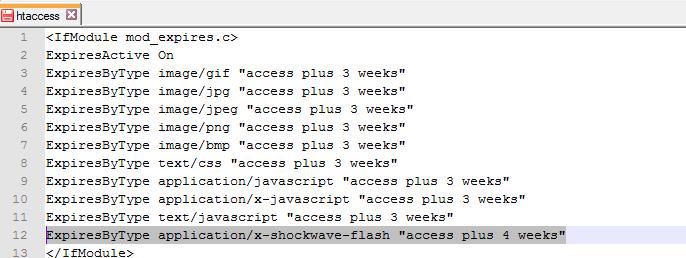 Flash Dosyalar İçin Tarayıcı Önbellekleme Nasıl Yapılır.