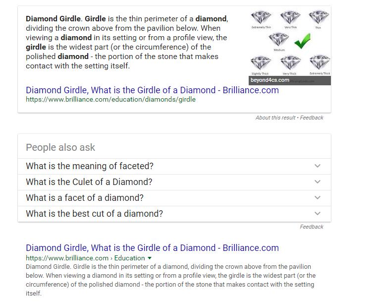 diamond-girdles